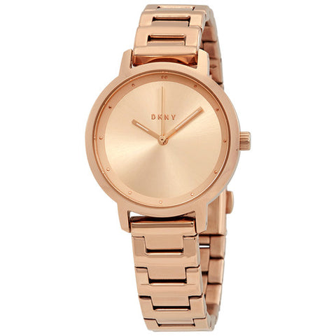 DKNY The Modernist Rose Sunray Dial 32 mm Ladies Watch NY2637