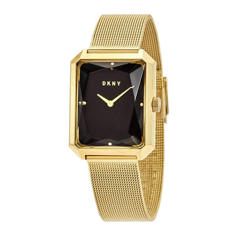 DKNY Cityspire Quartz Black Rectangle Dial 27 mm x 34 mm Ladies Watch NY2709