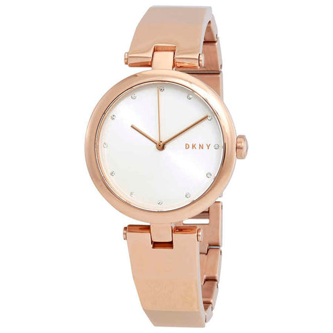 DKNY Eastside Quartz Silver Dial 34 mm Ladies Watch NY2711