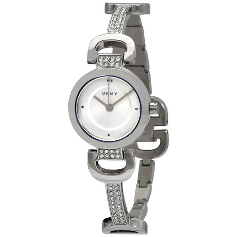 DKNY City Link Quartz Silver Dial 24 mm Ladies Watch NY2751 [Pre-order]