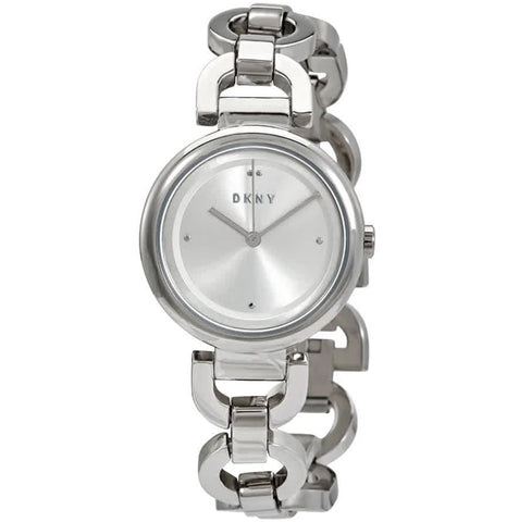 DKNY Eastside Quartz Silver Dial 30 mm Ladies Watch NY2767