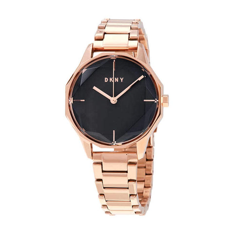 DKNY Cityspire Quartz Grey Dial Rose Gold-tone 34 mm Ladies Watch NY2794