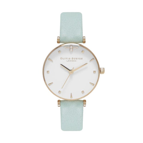 Olivia Burton Ladies' Mint Green & Rose Gold Watch OB16AM143