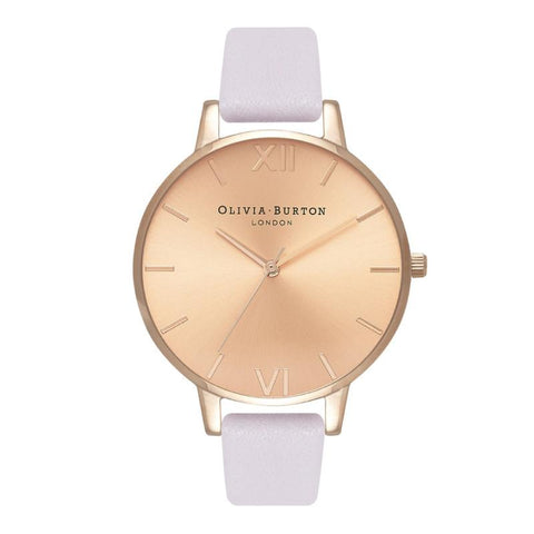 Olivia Burton Ladies' Sunray Dial Blossom & Rose Gold Watch OB16BD110
