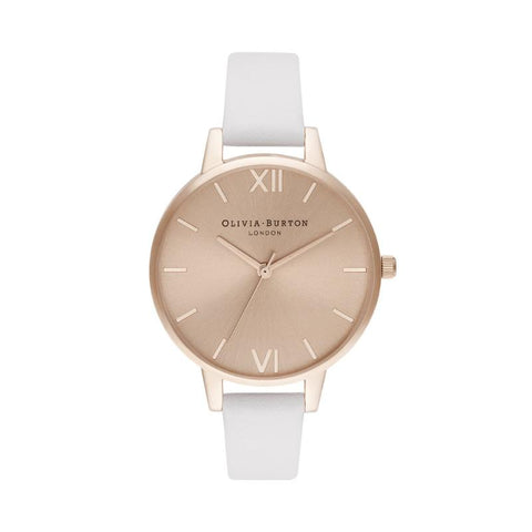 Olivia Burton Ladies' Demi Sunray Blush & Pale Rose Gold Watch OB16DE08