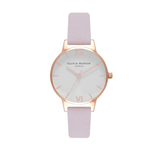 Olivia Burton Ladies' Blossom Pink Leather Strap Watch OB16MDW36