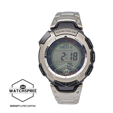 Casio ProTrek Tough Solar Triple Sensor Watch PRG110T-7 PRG-110T-7V