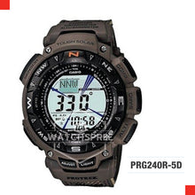Load image into Gallery viewer, Casio Pro Trek Watch PRG240R-5D