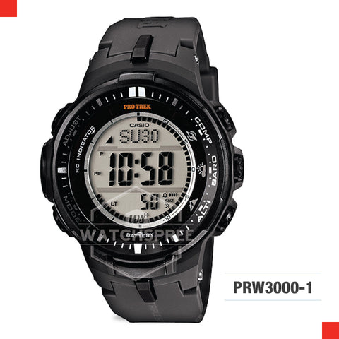 Casio Protrek Watch PRW3000-1D