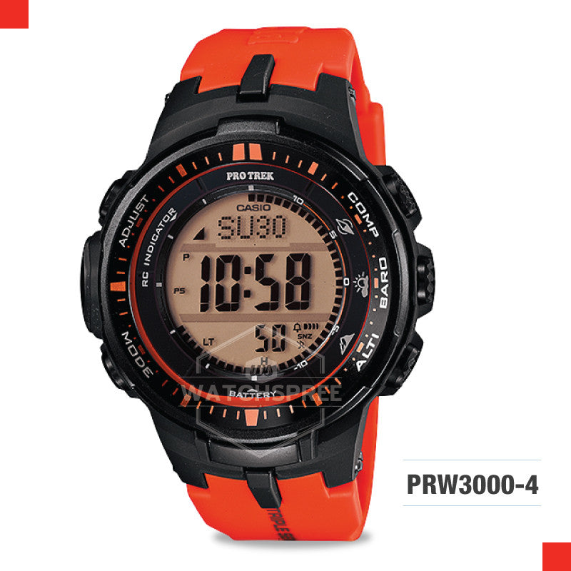 Casio Pro Trek Watch PRW3000-4D