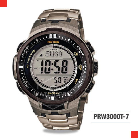 Casio Protrek Watch PRW3000T-7D