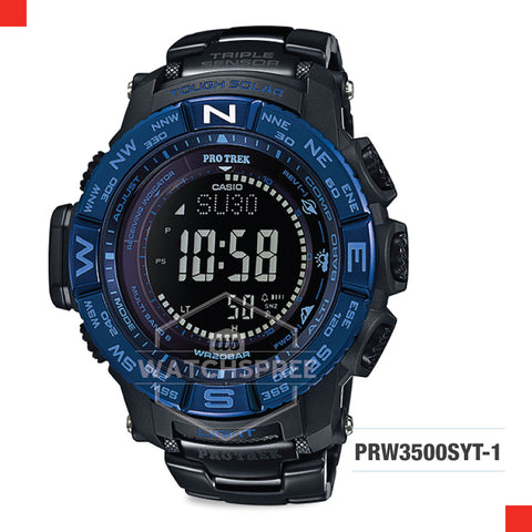 Casio Pro Trek Watch PRW3500SYT-1D