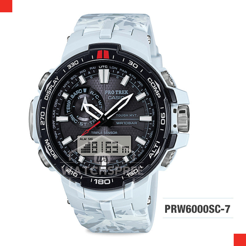 Casio Pro Trek Watch PRW6000SC-7D