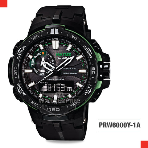 Casio Protrek Watch PRW6000Y-1A