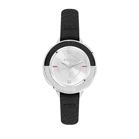 Furla Club Silver Dial 34 mm Ladies Watch R4251109504