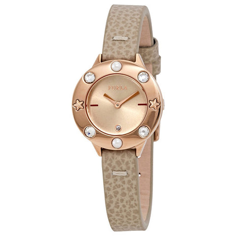 Furla Club Ivory Dial 26 mm Ladies Leather Watch R4251109530