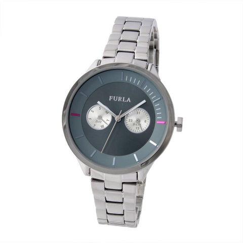 Furla Metropolis Grey Dial 38 mm Ladies Watch R4253102502