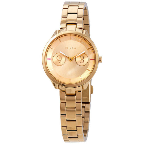 Furla Metropolis Champagne Dial 31 mm Ladies Watch R4253102508