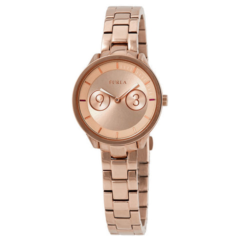 Furla Metropolis Rose Gold Dial 31 mm Ladies Watch R4253102518