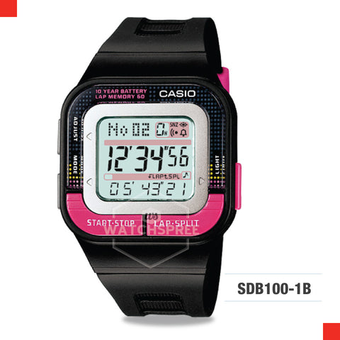 Casio Sports Watch SDB100-1B