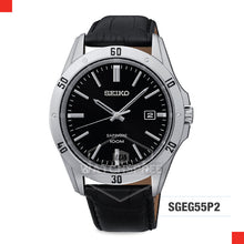 Load image into Gallery viewer, Seiko Quartz Watch SGEG55P2