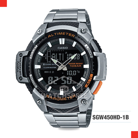 Casio Sports Watch SGW450HD-1B