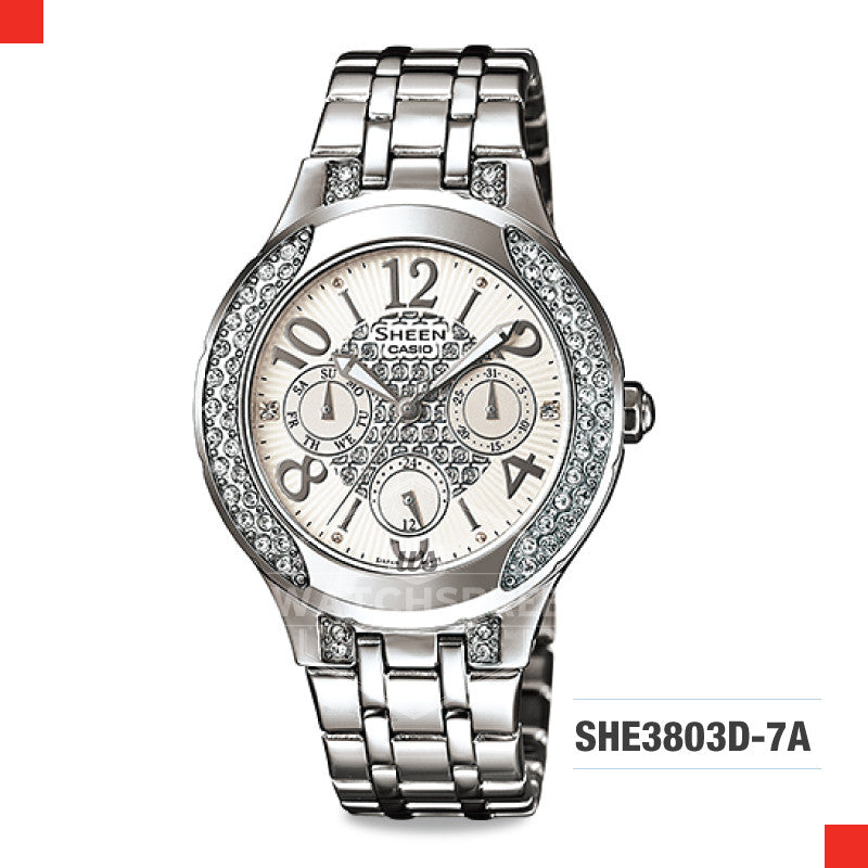 Casio Sheen Watch SHE3803D-7A