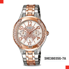 Load image into Gallery viewer, Casio Sheen Watch SHE3803SG-7A