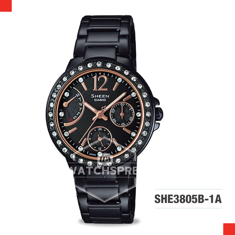 Casio Sheen Watch SHE3805B-1A