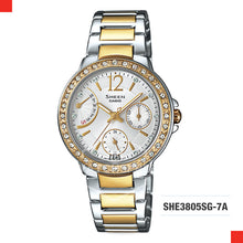 Load image into Gallery viewer, Casio Sheen Watch SHE3805SG-7A
