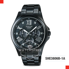 Load image into Gallery viewer, Casio Sheen Watch SHE3806B-1A