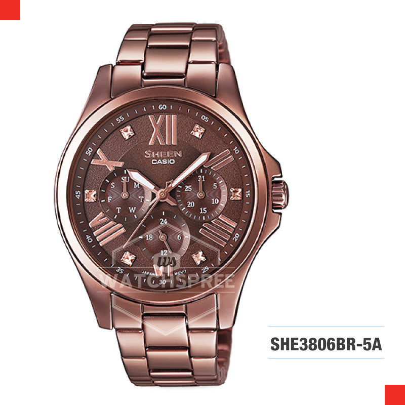 Casio Sheen Watch SHE3806BR-5A