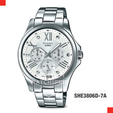 Load image into Gallery viewer, Casio Sheen Watch SHE3806D-7A