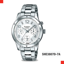 Load image into Gallery viewer, Casio Sheen Watch SHE3807D-7A