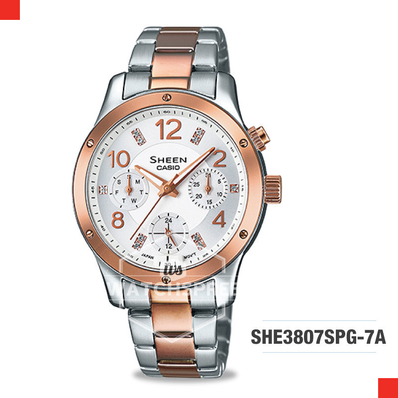 Casio Sheen Watch SHE3807SPG-7A
