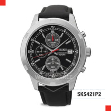 Load image into Gallery viewer, Seiko Chronograph Watch SKS421P2