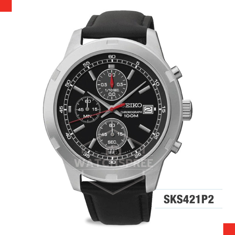 Seiko Chronograph Watch SKS421P2
