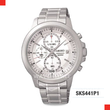 Load image into Gallery viewer, Seiko Chronograph Watch SKS441P1
