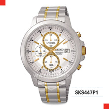 Load image into Gallery viewer, Seiko Chronograph Watch SKS447P1