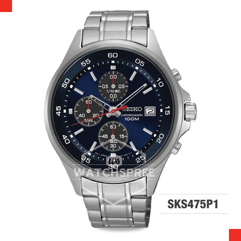 Seiko Chronograph Watch SKS475P1