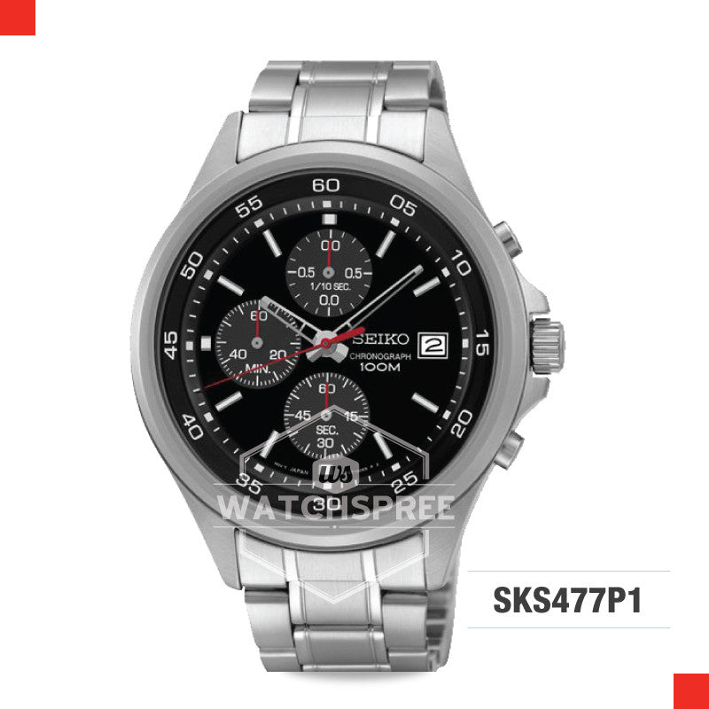 Seiko Chronograph Watch SKS477P1