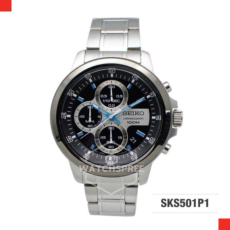 Seiko Chronograph Watch SKS501P1