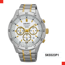 Load image into Gallery viewer, Seiko Chronograph Watch SKS523P1