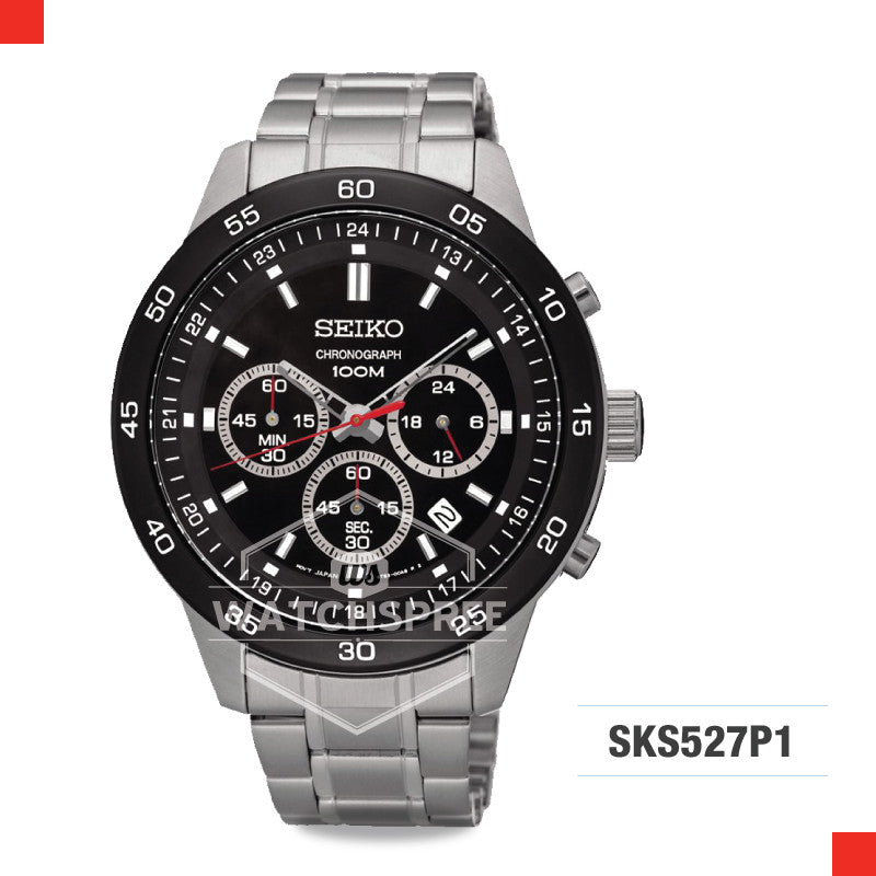 Seiko Chronograph Watch SKS527P1