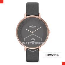 Load image into Gallery viewer, Skagen Ladies Ditte Grey Leather Watch SKW2216