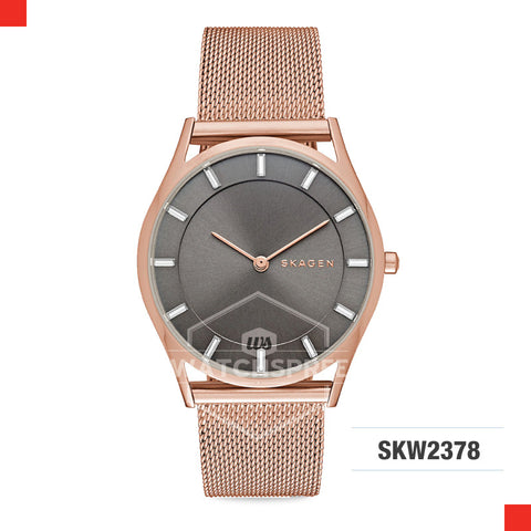 Skagen Ladies Holst Rose Gold Stainless Steel Watch SKW2378