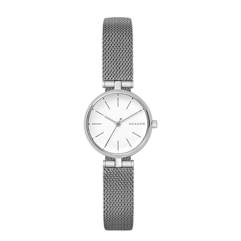 Skagen Ladies' Signature Stainless Steel Mesh T-bar Band Watch SKW2642