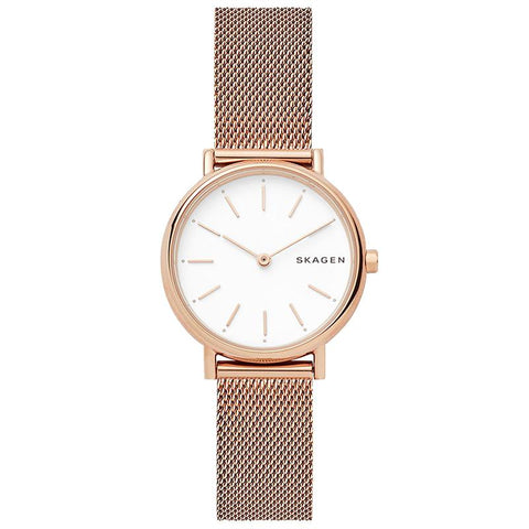 Skagen Ladies' Signature Slim Steel Mesh Band Watch SKW2694