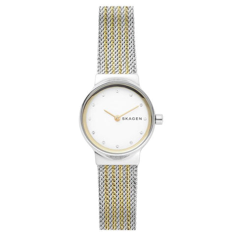 Skagen Ladies' Freja Two Tone Steel Mehs Watch SKW2698