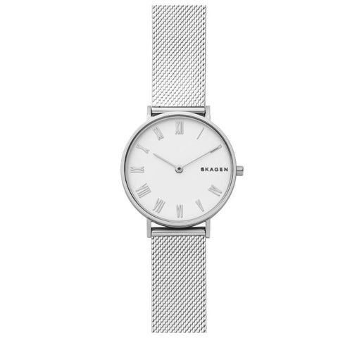 Skagen Ladies' Hald Slim Silk Mesh Watch SKW2712